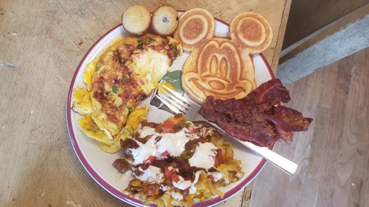 A full Big Breakfast plate