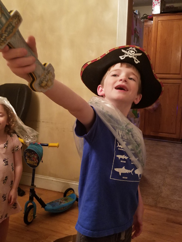 Silas the pirate